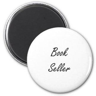 Sistema de trabajo artístico del vendedor de libro imán redondo 5 cm