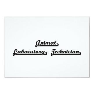 Sistema de trabajo clásico animal del técnico de