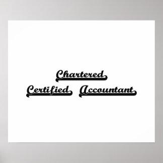 Sistema de trabajo clásico certificado cargado del póster