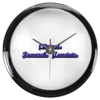 Sistema de trabajo clásico clínico del socio de relojes pecera