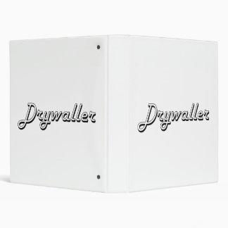 Sistema de trabajo clásico de Drywaller Carpeta 2,5 Cm