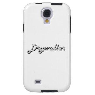 Sistema de trabajo clásico de Drywaller Funda Para Galaxy S4