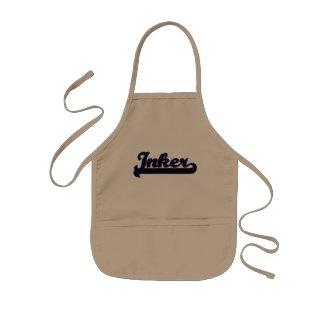 Sistema de trabajo clásico de Inker Delantal Infantil