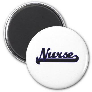 Sistema de trabajo clásico de la enfermera imán redondo 5 cm