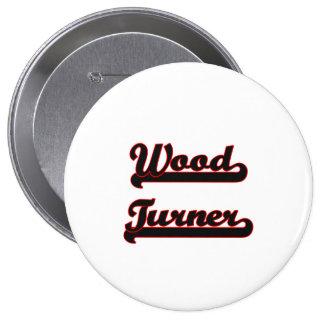 Sistema de trabajo clásico de madera de Turner Chapa Redonda 10 Cm