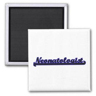 Sistema de trabajo clásico de Neonatologist Imán Cuadrado