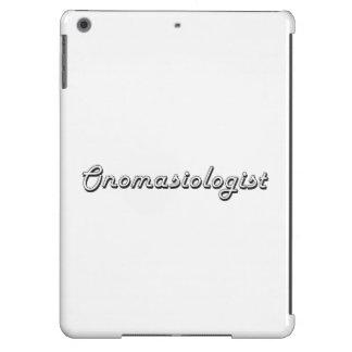 Sistema de trabajo clásico de Onomasiologist Funda Para iPad Air