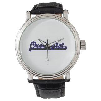 Sistema de trabajo clásico de Orologist Relojes De Pulsera