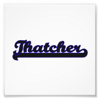 Sistema de trabajo clásico de Thatcher Arte Fotográfico