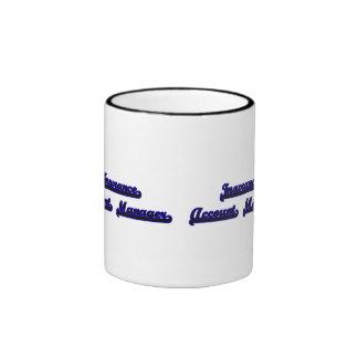 Sistema de trabajo clásico del administrador de taza a dos colores