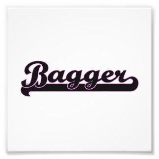 Sistema de trabajo clásico del Bagger Cojinete