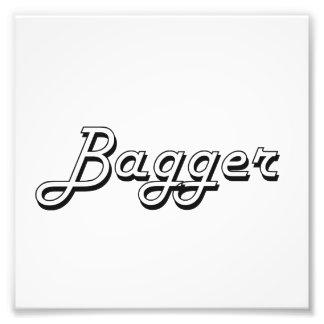 Sistema de trabajo clásico del Bagger Fotografía