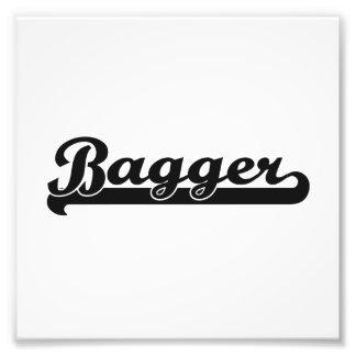 Sistema de trabajo clásico del Bagger Fotografías