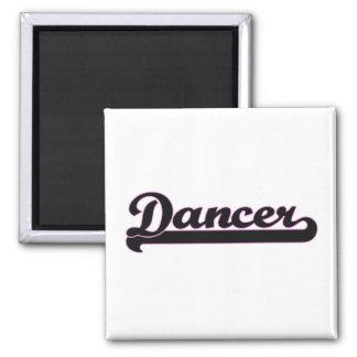 Sistema de trabajo clásico del bailarín imán cuadrado
