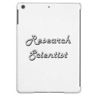Sistema de trabajo clásico del científico de la funda para iPad air