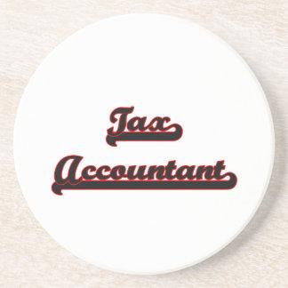 Sistema de trabajo clásico del contable del posavasos para bebidas