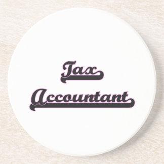 Sistema de trabajo clásico del contable del posavasos personalizados