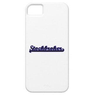 Sistema de trabajo clásico del corredor de bolsa iPhone 5 fundas