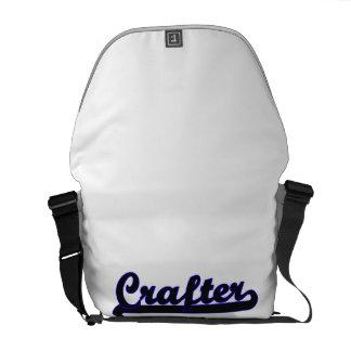 Sistema de trabajo clásico del Crafter Bolsas Messenger