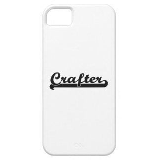 Sistema de trabajo clásico del Crafter iPhone 5 Carcasas