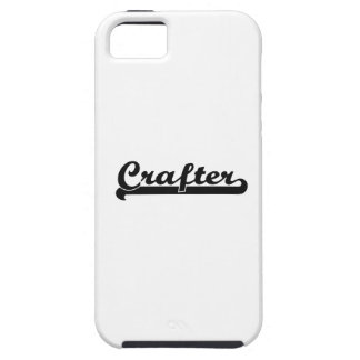 Sistema de trabajo clásico del Crafter iPhone 5 Fundas