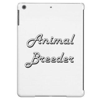 Sistema de trabajo clásico del criador animal funda para iPad air