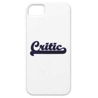 Sistema de trabajo clásico del crítico iPhone 5 carcasa