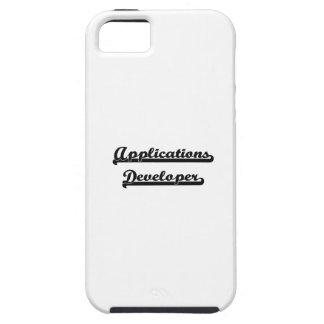 Sistema de trabajo clásico del desarrollador de iPhone 5 protector