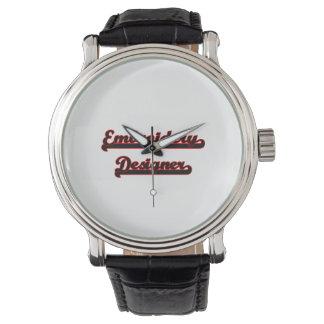 Sistema de trabajo clásico del diseñador del relojes