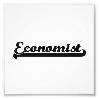 Sistema de trabajo clásico del economista fotografías