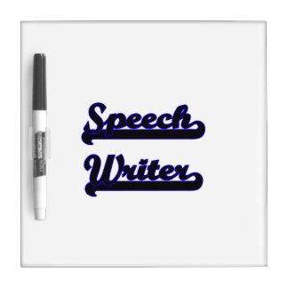 Sistema de trabajo clásico del escritor de tablero blanco