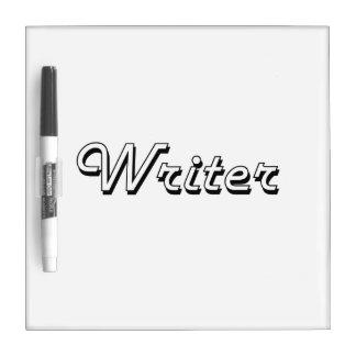 Sistema de trabajo clásico del escritor pizarras blancas de calidad