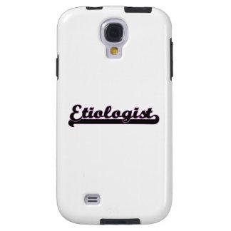 Sistema de trabajo clásico del Etiologist Funda Para Galaxy S4
