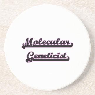 Sistema de trabajo clásico del genetista molecular posavaso para bebida