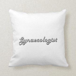 Sistema de trabajo clásico del ginecólogo almohada