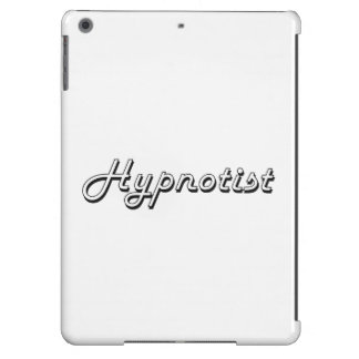 Sistema de trabajo clásico del Hypnotist Funda Para iPad Air
