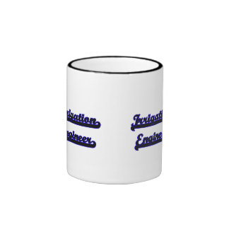 Sistema de trabajo clásico del ingeniero de la taza a dos colores