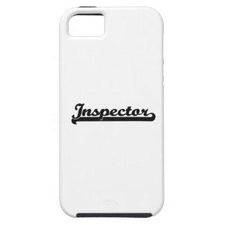 Sistema de trabajo clásico del inspector iPhone 5 cárcasa