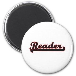Sistema de trabajo clásico del lector imán redondo 5 cm