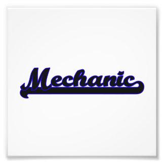 Sistema de trabajo clásico del mecánico fotografías