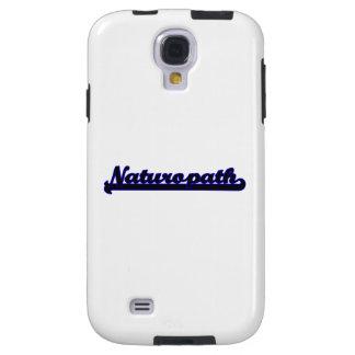 Sistema de trabajo clásico del Naturopath Funda Para Galaxy S4