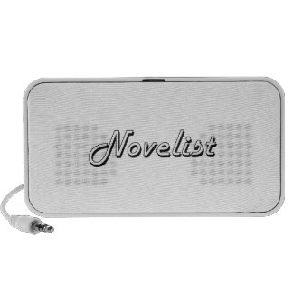 Sistema de trabajo clásico del novelista iPod altavoces