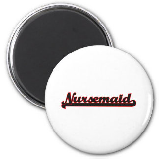 Sistema de trabajo clásico del Nursemaid Imán Redondo 5 Cm