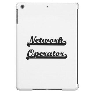 Sistema de trabajo clásico del operador de red funda para iPad air