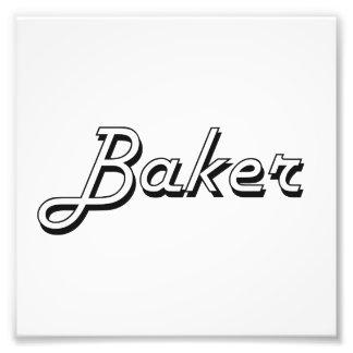 Sistema de trabajo clásico del panadero cojinete
