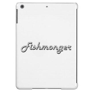 Sistema de trabajo clásico del pescadero funda para iPad air