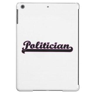 Sistema de trabajo clásico del político funda para iPad air
