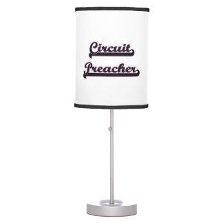 Sistema de trabajo clásico del predicador del