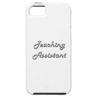 Sistema de trabajo clásico del profesor ayudante iPhone 5 fundas