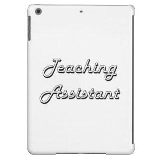 Sistema de trabajo clásico del profesor ayudante funda para iPad air